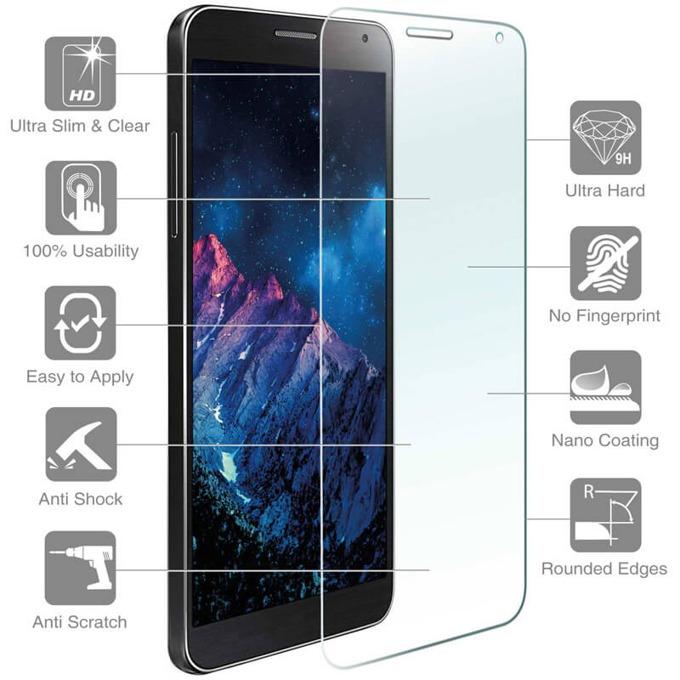 Протектор от закалено стъкло /Tempered Glass/, 4smarts, за Samsung Galaxy J7 (2016) (смартфон) image