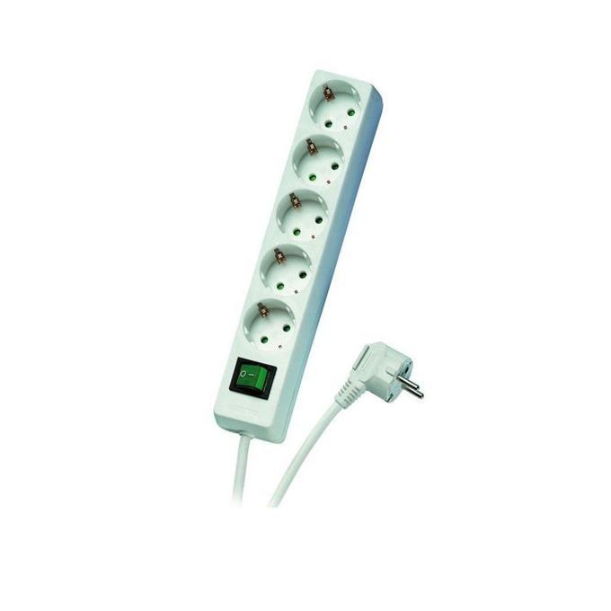 Vivanco 31045 5 socket Switch 3m White