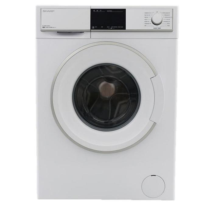 Перална машина Sharp ES-HFB8143W3, A+++, 8kg, 1400 обр./мин, 15 програми, свободностояща, 60см, бяла image