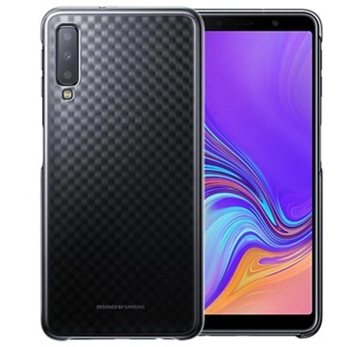 Калъф за Samsung Galaxy A7(2018), поликарбонат, Samsung Graduation Cover, черен image