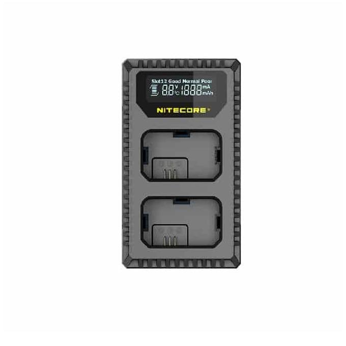 Зарядно Nitecore USN1, за фотоапарати Sony, Sony NP-FW50, 5V/2A, 2 слота, черно image