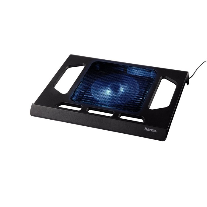 "Охлаждаща поставка за лаптоп Hama Black Edition с вентилатор, 17""(43.18 cm), USB image"