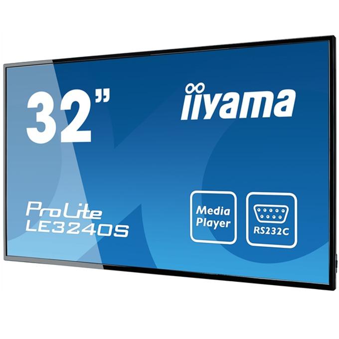 "31.5""(80.01cm) Публичен дисплей IIYAMA LE3240S-B1, IPS Direct LED, Full HD, HDMI image"