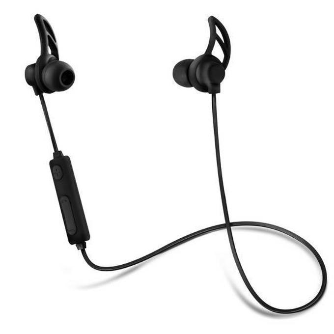 """Слушалки с микрофон Acme BH101, безжични, тип """"тапи"""", микрофон, черни image"""