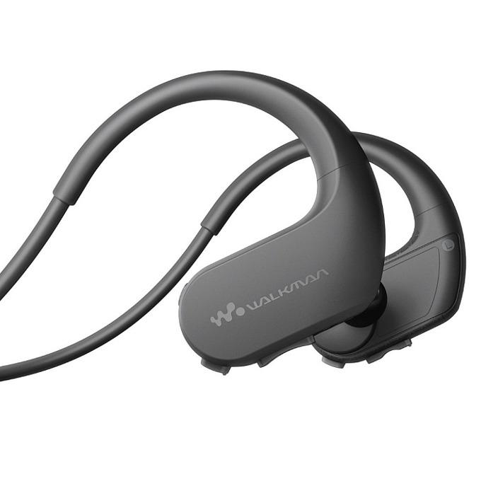 Слушалки Sony NW-WS413, безжични, MP3, 4GB, USB, черни image