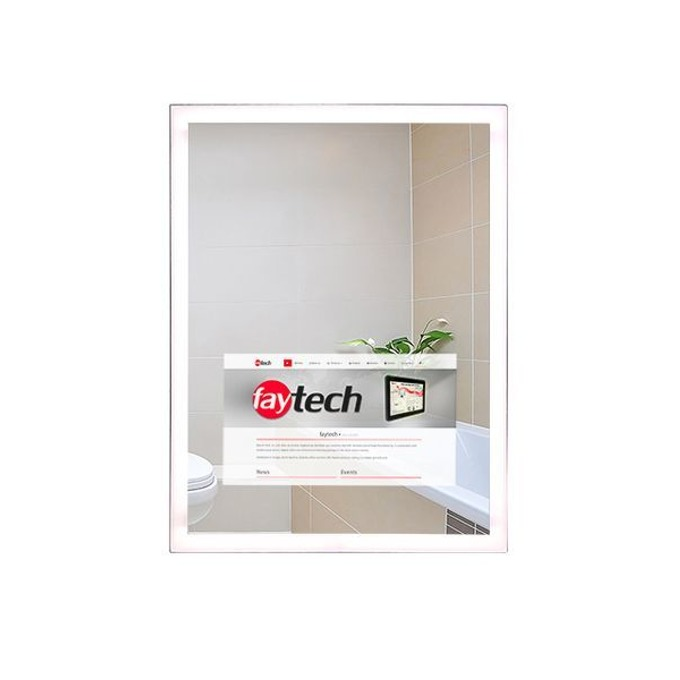 """All in One компютър Faytech FT156V40MIRROR, четириядрен Cortex-A7 1.5 GHz, 15.6"""" (39.62 cm) Full HD Capacitive Multi Touch Display, 1GB DDR3, 8GB eMMC, Android image"""