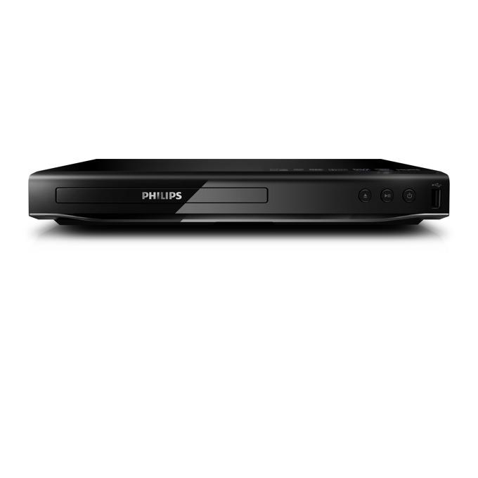 DVD плейър Philips DVP2880 с DivX Ultra, USB Media Link, HDMI, Cinema Plus, CD, (S)VCD, DVD, DVD+- R/RW, DivX, MP3, WMA, JPEG image