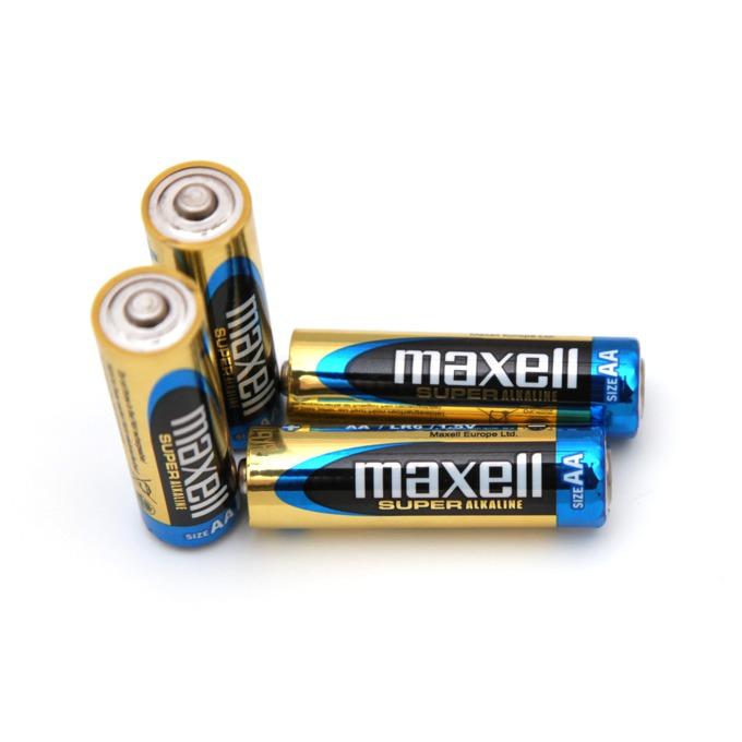 Батерии алкални Maxell Super AA, 1.5V, 4 бр. image