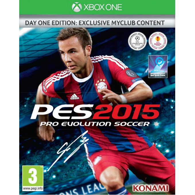 Игра за конзола Pro Evolution Soccer 2015 Day 1 Edition, за XBOX ONE image