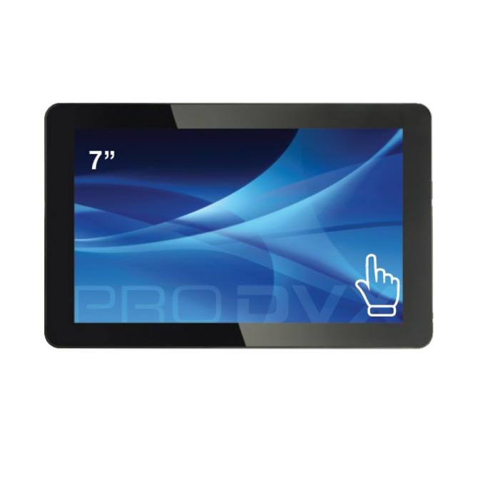"""Монитор ProDVX TMP-7, 7""""(17.78 cm) тъч панел, WSVGA, HDMI, VGA, USB image"""