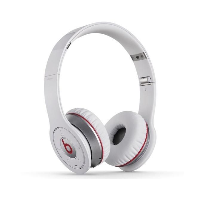 Професионални слушалки Beats by Dre Wireless Over Ear, бели, Bluetooth image