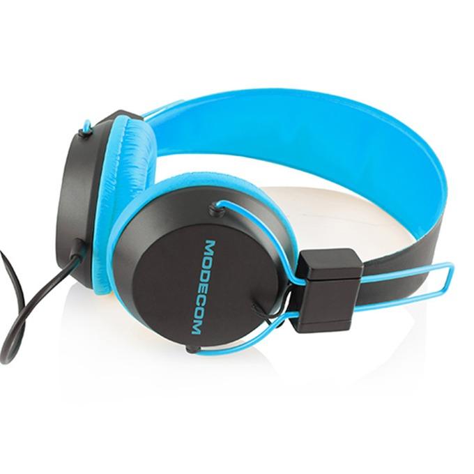 Слушалки Modecom MC-400 Circuit, микрофон, сини image
