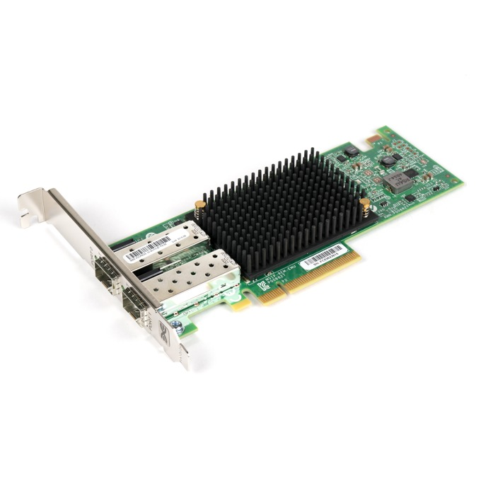 Мрежови адаптер Broadcom OCe14102-NX, от PCIe 3.0 x8 към 2x SFP+(ж), 10GBASE-CR (direct attach copper) image
