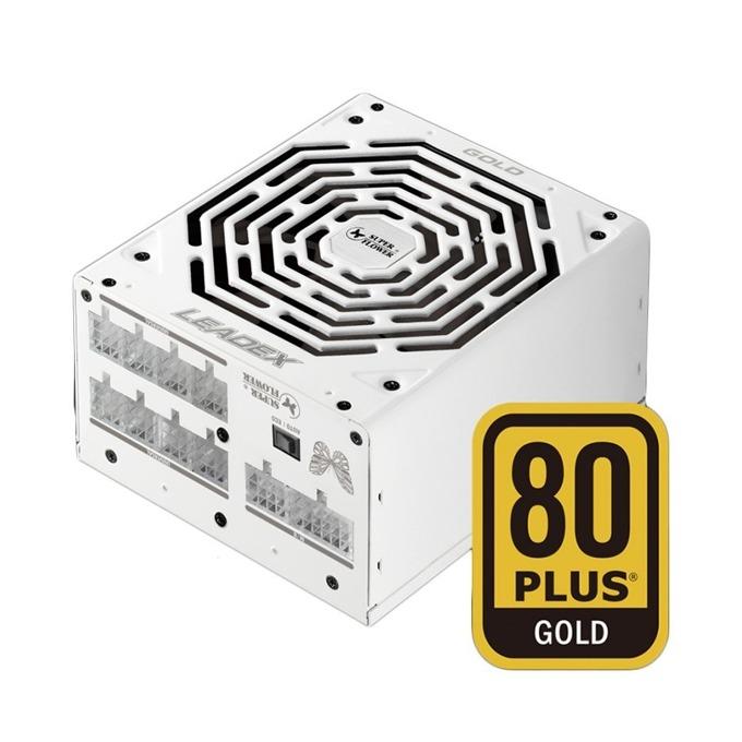 Захранване Super Flower Leadex Gold, 850W, Active PFC, 80+ Gold, изцяло модулно, 140 mm вентилатор image