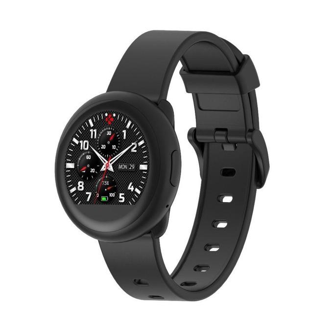 Смарт часовник MyKronoz ZeRound3 Lite, водоустойчивост, тъчскрийн, аларма, измерване на разстояние/изгорените калории/пулс, мониторинг на съня, Bluetooth 4.2, Android, черен image