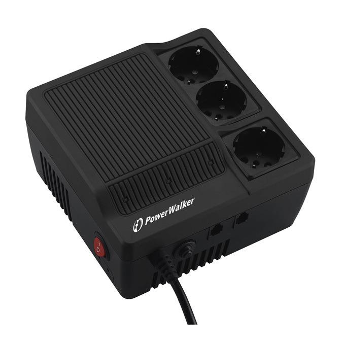 Стабилизатор PowerWalker 1000, 1000VA/600W