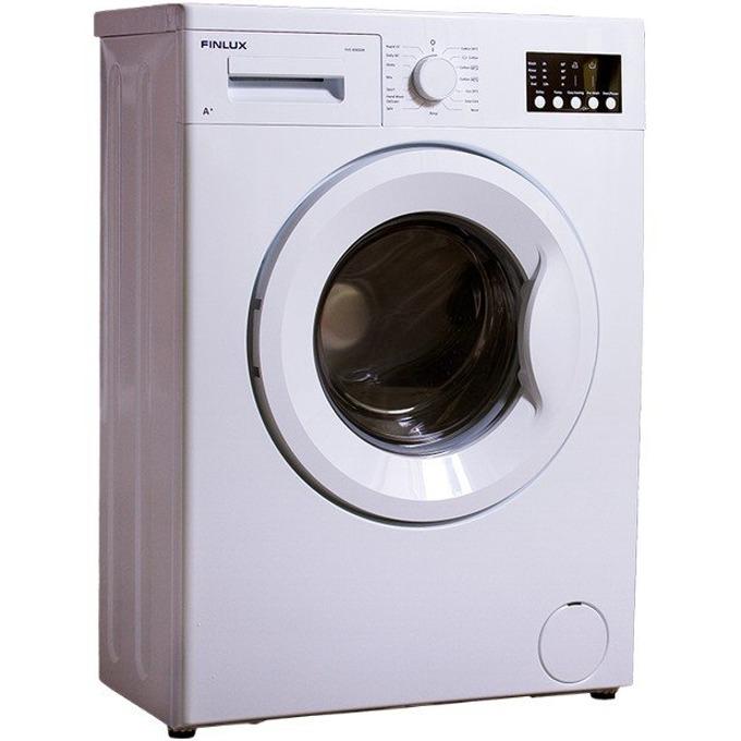 Перална машина Finlux FX5 800SSN SUPER SLIM, клас А+, 4 кг. капацитет, 800 оборота в минута, 15 програми, свободностояща, 60 cm. ширина, ниво на шум 58dB, бяла image