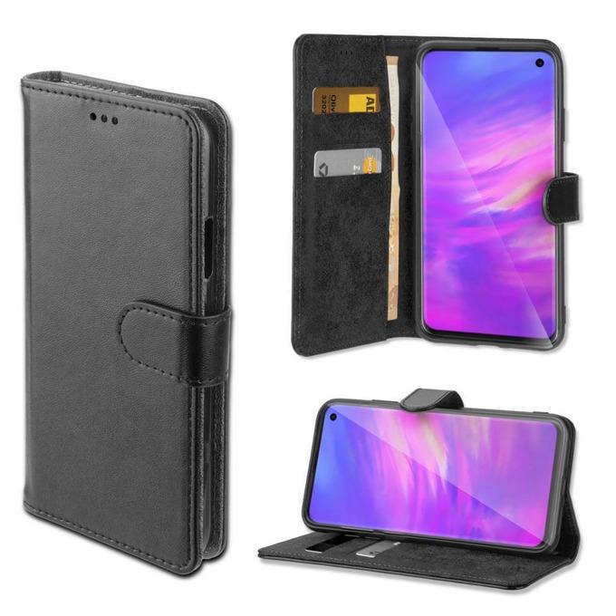 Калъф за Samsung Galaxy S10, 4smarts Wallet Case URBAN, Flip Wallet , кожен, черен image