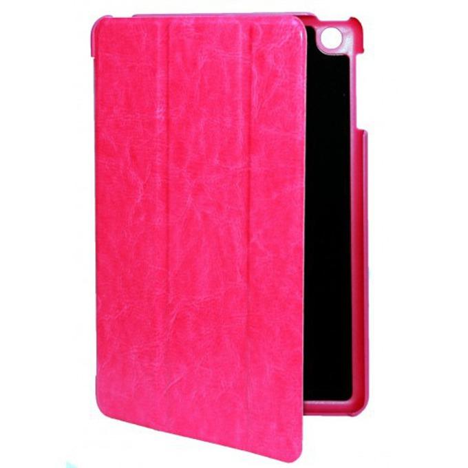 """Калъф M-017 за iPad Mini, """"бележник"""", кожен, пластичен, циклама image"""