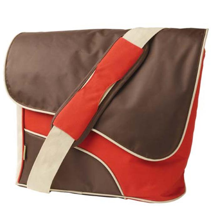 """Чанта за лаптоп Trust Street Style, 15.4""""(39.12cm), кафяво-червена image"""