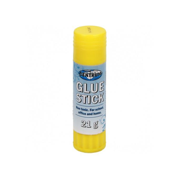 Сухо лепило Centrum Glue Stick, стик, 21г., жълто image