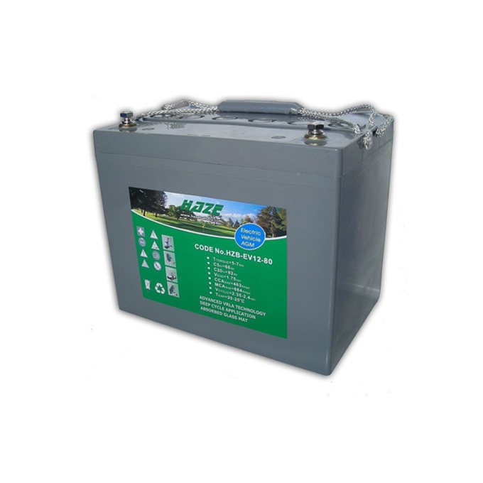 Акумулаторна батерия Haze (HZY-EV12-100), 12V, 100Ah, GEL, EV image