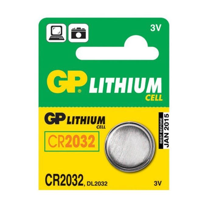 Батерия литиева GP CR2032, 3V, 5 бр. в опаковка, цена за 1 бр. image