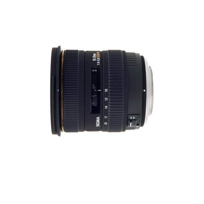Sigma 10-20mm f/3.5 EX DC HSM за Nikon