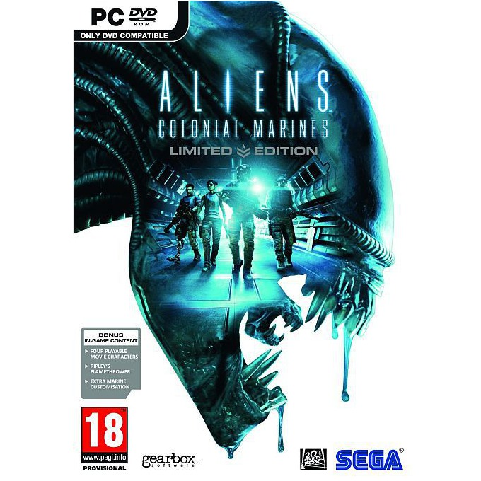 Игра Aliens: Colonial Marines Limited Edition, за PC image