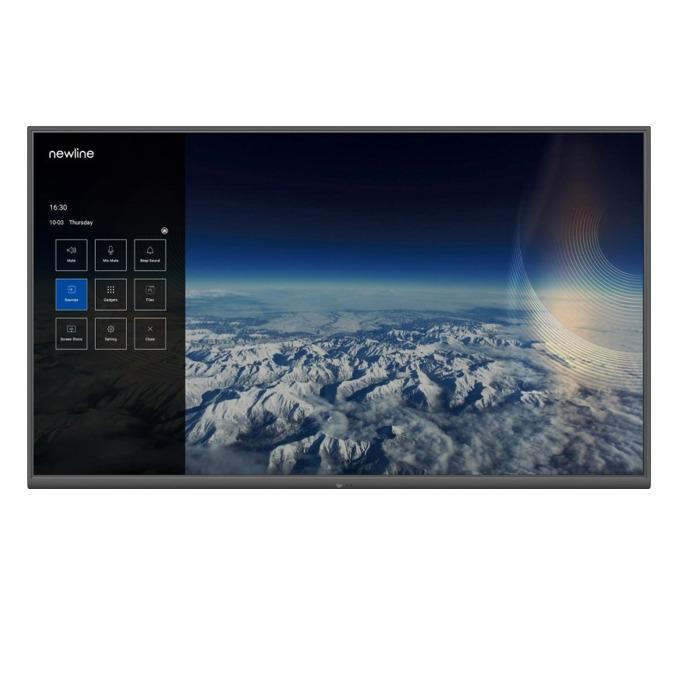 "Дисплей Newline Interactive Inc TT-9819NT, 98"" (248.92 см) 4K Ultra HD LED дисплей, HDMI, USB, LAN image"