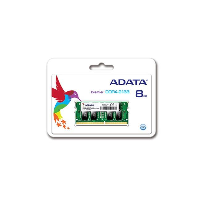 Памет 8GB DDR4 2133MHz A-Data Premier AD4S2133W8G15-B, SODIMM, 1.2V image