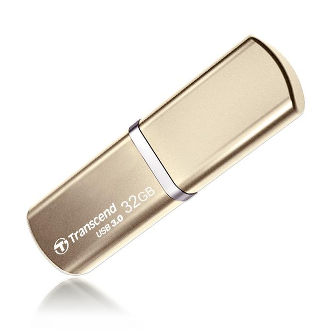 32GB USB Flash Drive, Transcend JetFlash 820, USB 3.0, златиста image
