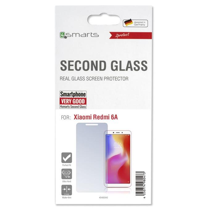 Протектор от закалено стъкло /Tempered Glass/, 4Smarts 4S493342, за Xiaomi Redmi 6A image