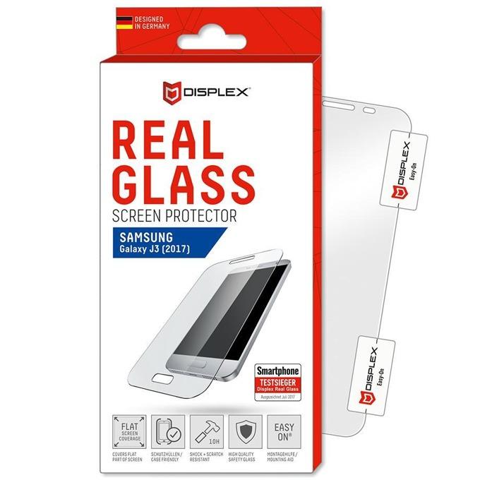 Протектор от закалено стъкло /Tempered Glass/, Displex 00810, за Samsung Galaxy J3 2017 image