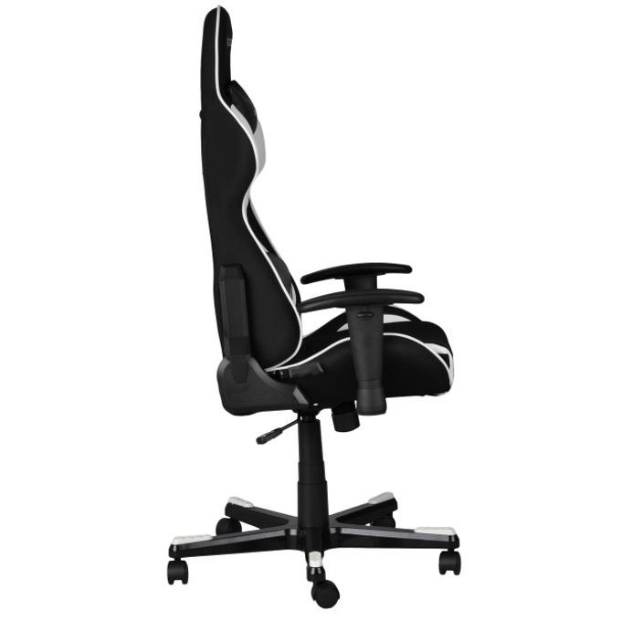 Геймърски стол DXRacer Formula OH/FE11/NW, черен/бял image