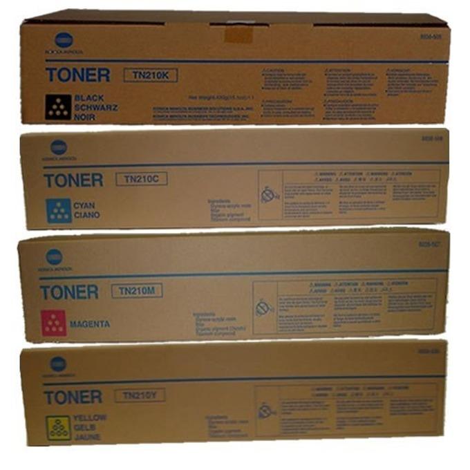 Тонер за Konica Minolta C250/С250P/С252/С252Р - Cyan - TN210CN - Заб.: 12 000k image