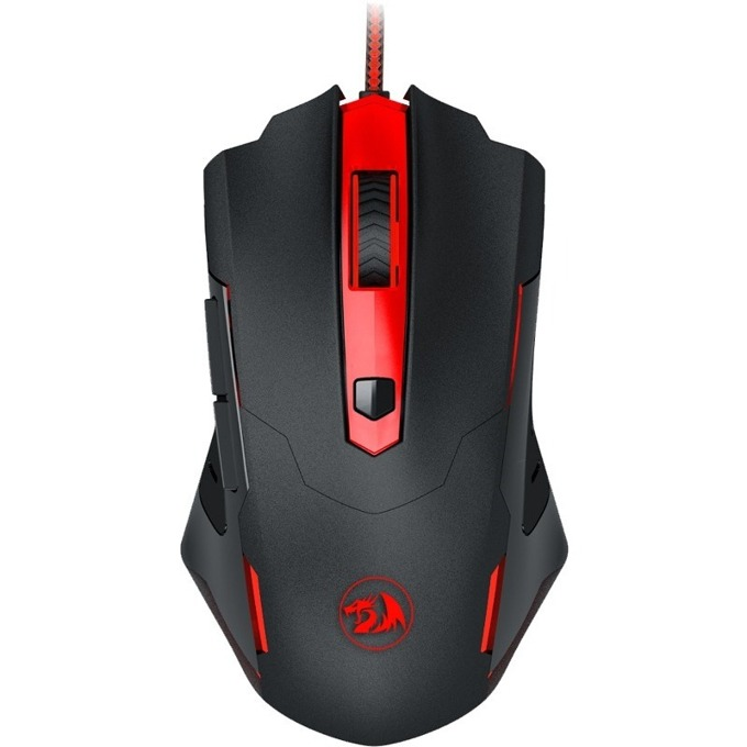Мишка Redragon Pegasus M705-BK, оптична (7200 dpi), USB, черна, геймърска image