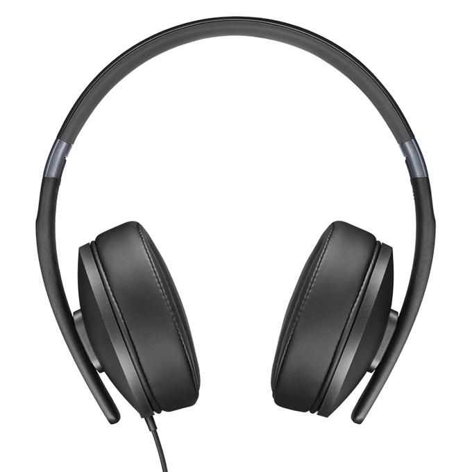 Слушалки Sennheiser HD 4.20s, микрофон, 18Hz-20kНz честотен диапазон, 1.4 м ĸaбeл, черни image
