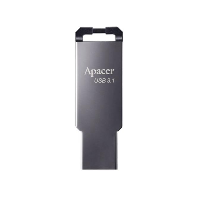 32GB USB Flash Drive, Apacer AH360, USB 3.1, сив image