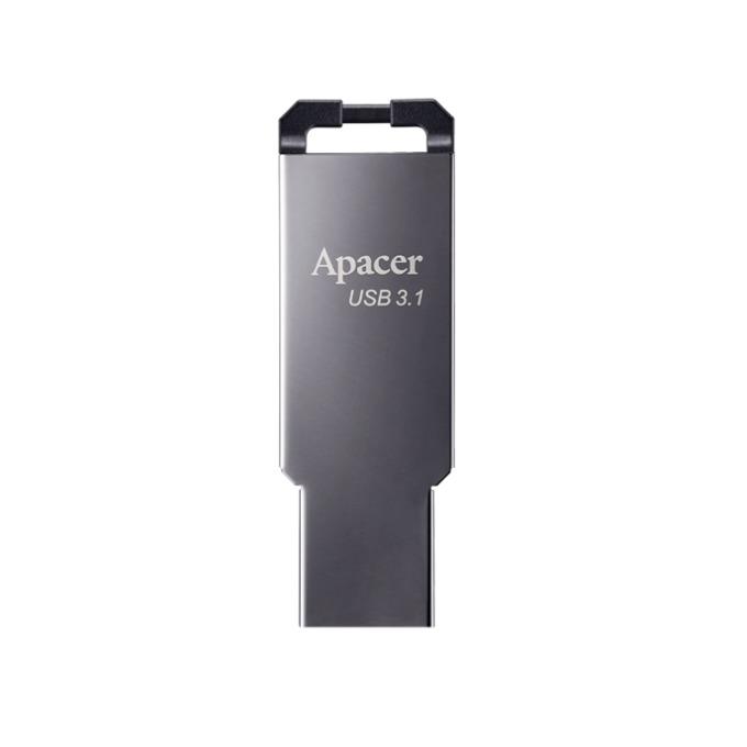 Памет 32GB USB Flash Drive, Apacer AH360, USB 3.1, сив image