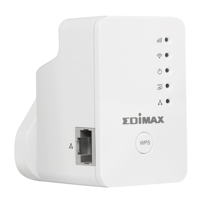 Extender/Екстендър Edimax EW-7438RPN Mini, Access point/Аксес пойнт, 2.4GHz (300Mbps), 1x 10/100M Ethernet Port (RJ45), 2 вътрешни антени image