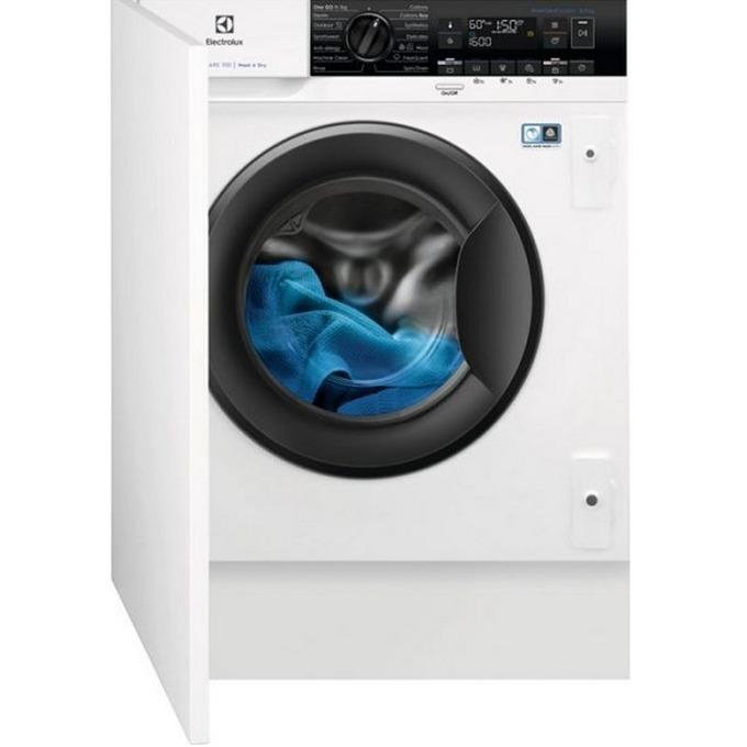 Пералня със сушилня Electrolux EW7W368SI, клас А, 7 кг капацитет на пералня/ 4 кг на сушилня, 1400 оборота в минута, 12 програми на изпиране, за вграждане, 60 cm. ширина, бяла image