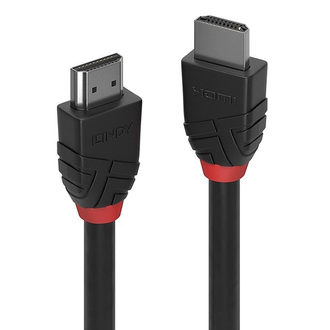 Кабел Lindy 36470, от HDMI(м) към HDMI(м), 0.5m, черен image