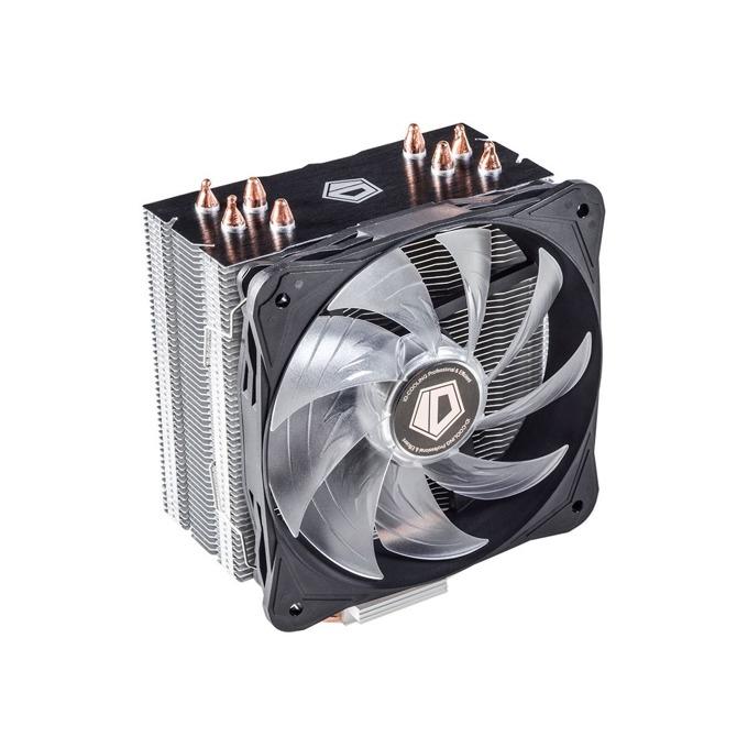 Охлаждане за процесор ID-Cooling SE-214L-W, съвместимост със сокети LGA2011/1366/1151/1150/1155/1156 & FM2+/FM2/FM1/AM4/AM3+/AM3/AM2+/AM2 image