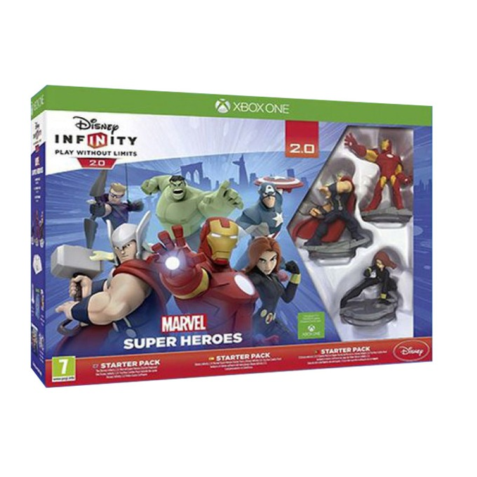 Disney Infinity 2.0: Marvel Super Heroes Starter Pack, за XBOX ONE image