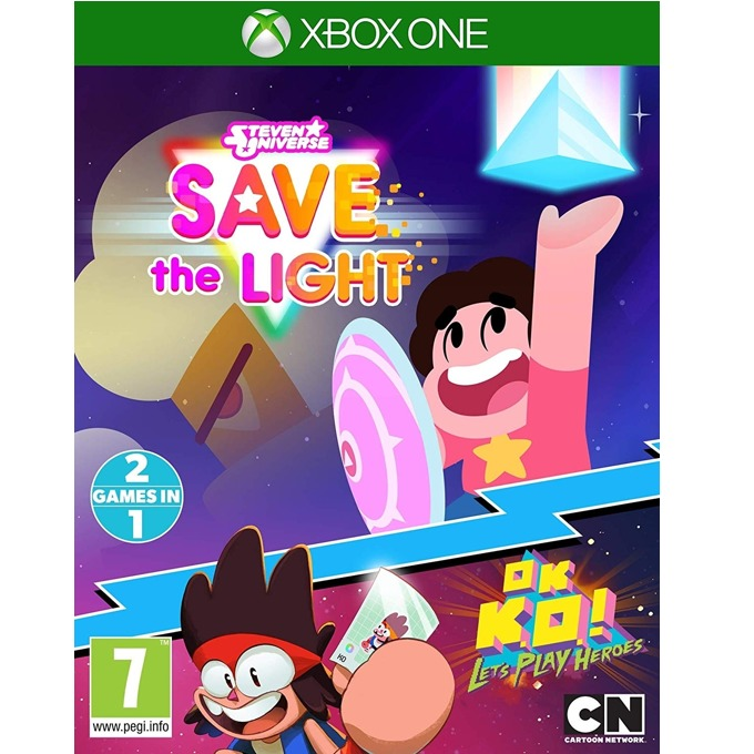 Игра за конзола Steven Universe Save The Light And OK K.O.! Lets Play Heroes, за Xbox One image