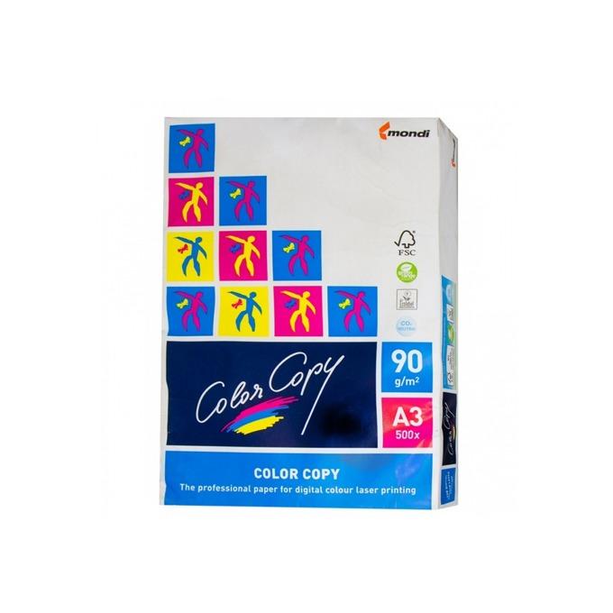 Хартия, Mondi Color Copy, A3, 90 g/m2, 500 листа image