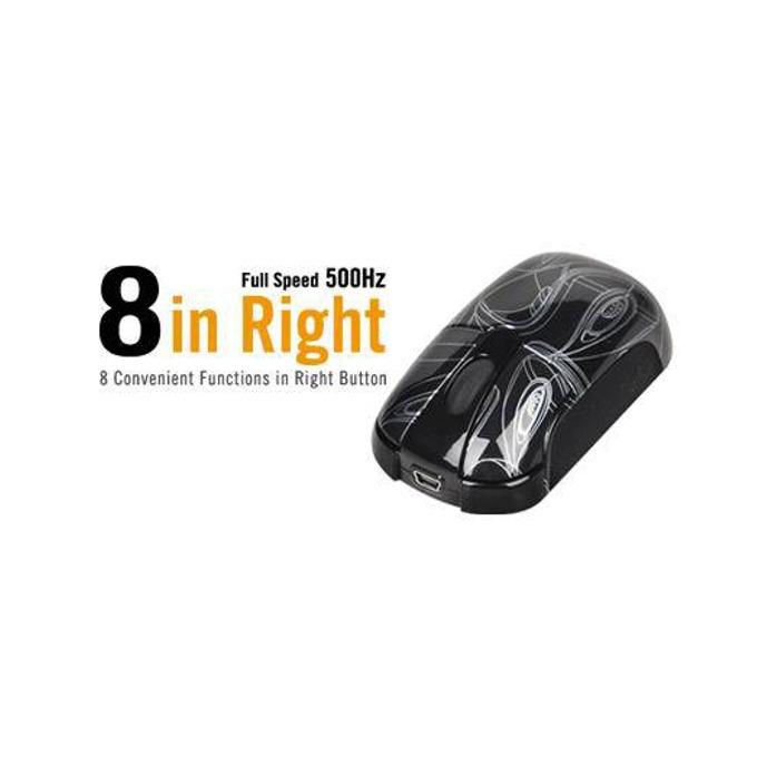 Мишка A4tech K3-23E, оптична (800dpi), USB, черна  image