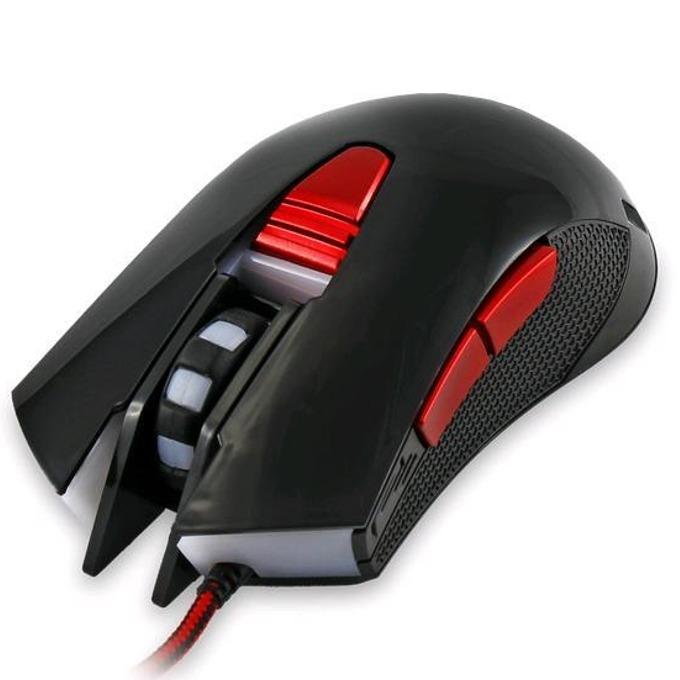 Мишка White Shark Genghis khan GM-1603W, USB, оптична(4800dpi), черна image