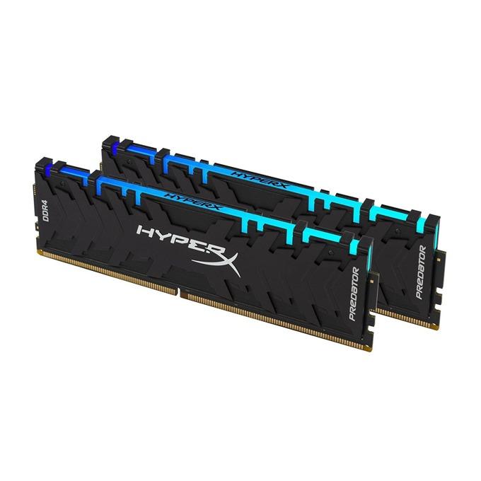 16GB (2x 8GB) DDR4 2933MHz, HyperX Predator RGB HX429C15PB3AK2/16, 1.2V, RGB програмируема подсветка image